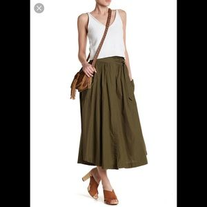 7f58acb108 Free People ❤ Dream of Me Midi Skirt
